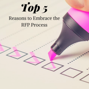 Top 5 reasons to RFP